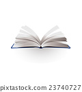 opened book vector illustration 23740727