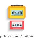 vector, music, cassette 23741044