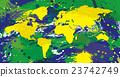 แผนที่บราซิล Color World 23742749