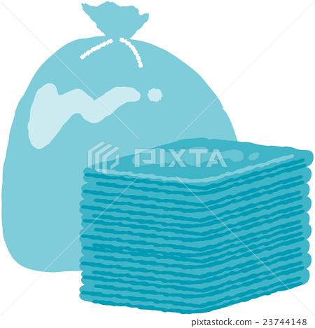 Disaster prevention goods · garbage bag 23744148