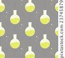 Vector test tube glassware. Chemistry pattern 23745879