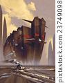 繪畫 航海 船 23749098
