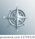 3d wind rose vector illustration. 23749328