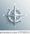 3d wind rose vector illustration. 23749331