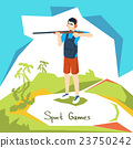 Shooting Athlete Sport Competition 23750242