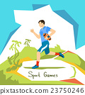Rugby Game Player Sport Competition 23750246