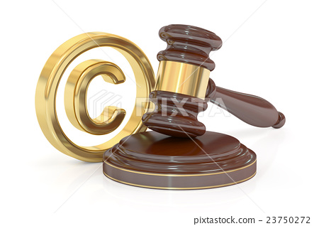 Copyright laws and intellectual property concept 23750272