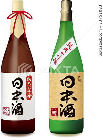 japanese sake, alcohol, sake bottle 23751083