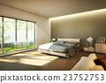 床 臥室 房間 23752753