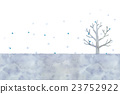 Illustration of winter tree 23752922