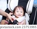카시트 드라이브 (아기 여자 엄마 차 교통 안전 한 살 한 살 아기 유아 육아) 23753965