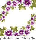 꽃, 화초, 벡터 23755769