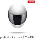 High quality light white motorcycle helmet 23759497