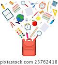教育 学校 书包 23762418