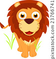 Cute Lion cartoon 23766741