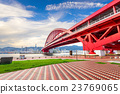 Port Island Bridge in Kobe, Japan 23769065