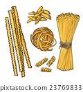 pasta vector italian 23769833