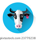 animal, cattle, icon 23770238