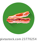 Bacon Meat Food Icon 23770254