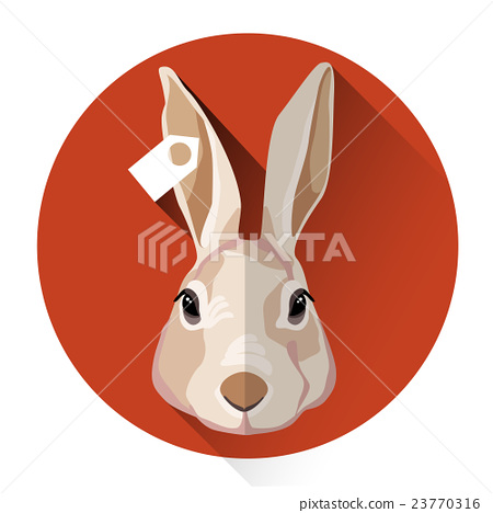 Rabbit Farm Animal Icon 23770316
