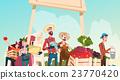Big Farm Eco Organic Market Farmers With 23770420