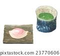 말차, 일본식 과자, 일본 과자 23770606