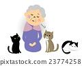 老人 女性 女 23774258