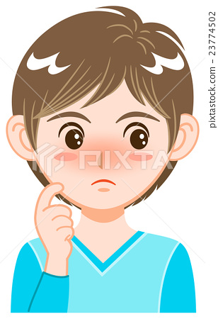 Facial expression - gesture 23774502