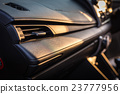 Detail of new modern car interior 23777956