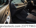Detail of new modern car interior 23777963