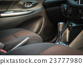 Detail of new modern car interior 23777980