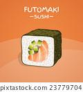 Futomaki Sushi Roll 23779704