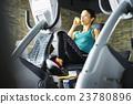 女性 自行車運動 運動 23780896
