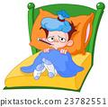Sick kid 23782551
