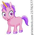 Smiling unicorn 23782577