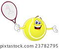Tennis ball 23782795