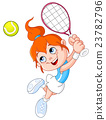 Tennis girl 23782796