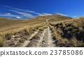 Trail leading over a mountain ridge in Otago 23785086
