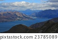 Lake Hawea and mountains of the Southern Alps 23785089
