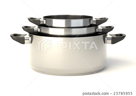 Stainless steel pots 23785955