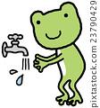 青蛙 洗手 衛生 23790429