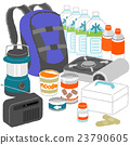 emergency supply, disaster prevention set, emergency supplies 23790605