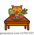 蔬菜和動物系列 23791707