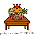 蔬菜和動物系列 23791710