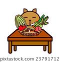 蔬菜和動物系列 23791712