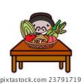 蔬菜和動物系列 23791719