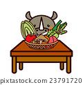 蔬菜和動物系列 23791720