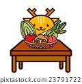 蔬菜和動物系列 23791722