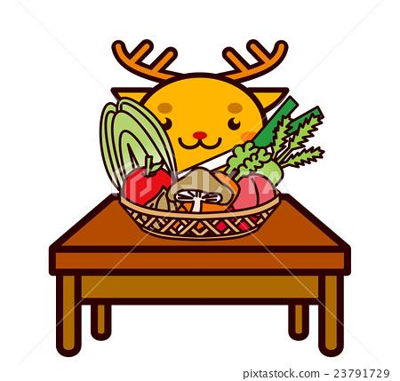 蔬菜和動物系列 23791729