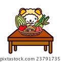蔬菜和動物系列 23791735